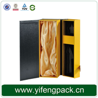 customized printed strong corrugated wine box with dividers