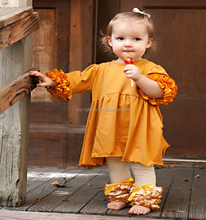 New model kids casual dresses 2016 baby dresses for girls