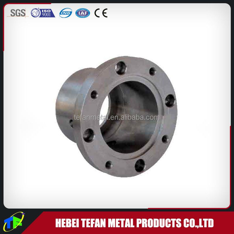 According to customer drawing or sample die casting parts cast iron pipe end cap