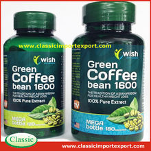 Certified Halal Natural herbs Green coffee bean weight loss capsule wholesale exporter/ Contract manufacturer