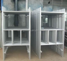 Ethiopia Gate Frame Scaffolding for Masonry Construction