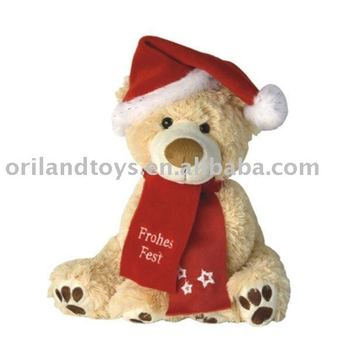 Made in china SGS christmas teddy bear