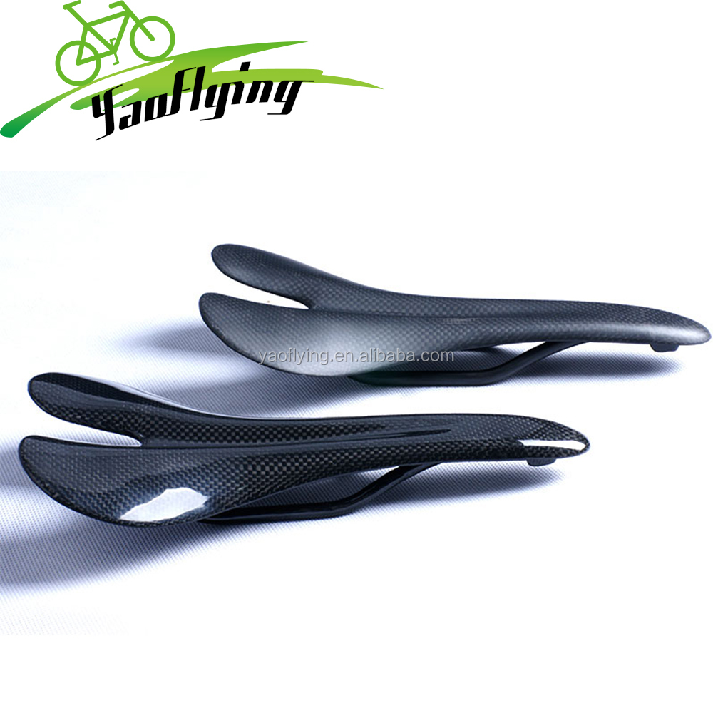 3K full carbon fiber bicycle parts super light mountain/road carbon bike saddle seat matte/glossy free shipping