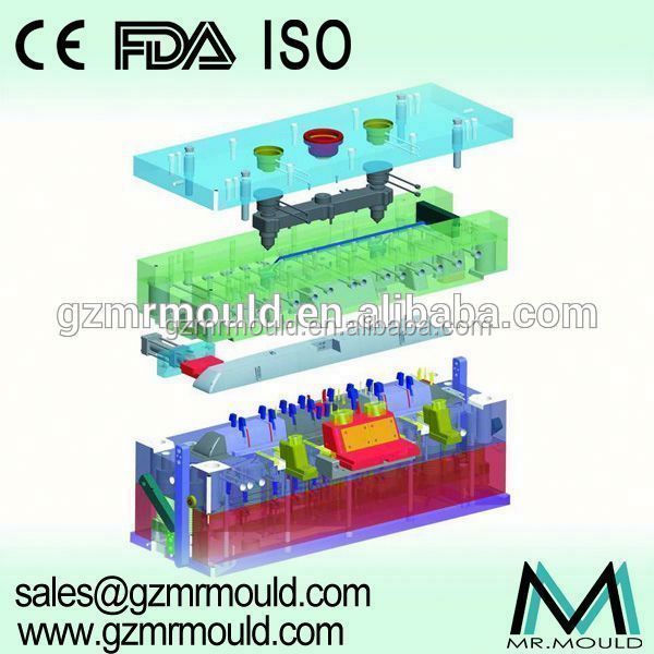 multi-cavity injection plastic knife mold