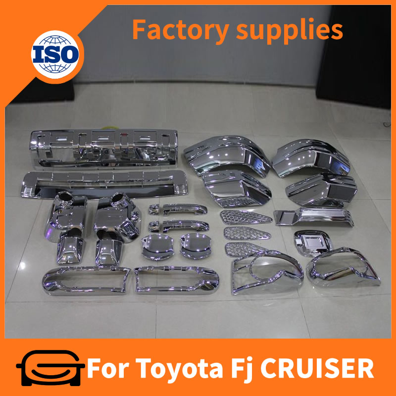 Complete Full Set of Exterior Chrome accessories for Toyota Fj CRUISER 2007+
