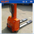 Self loader the pedestrian stacker for vans and transport vehicles