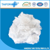 pp and silicone cotton filling for pillow pets 7Dx64 HCS