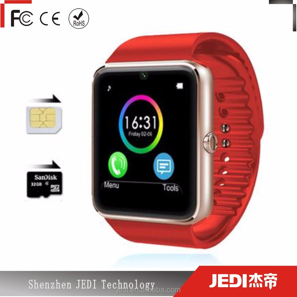 ODM music smartwatch gt08 watch smartphone with camera and GSM OL071