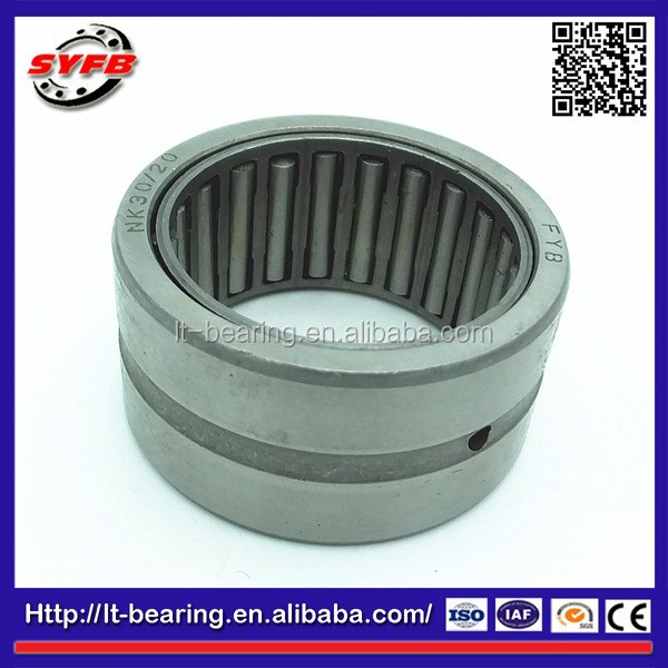 NK30/20 NK without inner ring diameter 30mm Needle roller Bearing