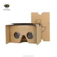 DIY 3D glasses Google Cardboard V2.0 VR with NFC / headband VR for smart phone Virtural Reality for IOS and Android