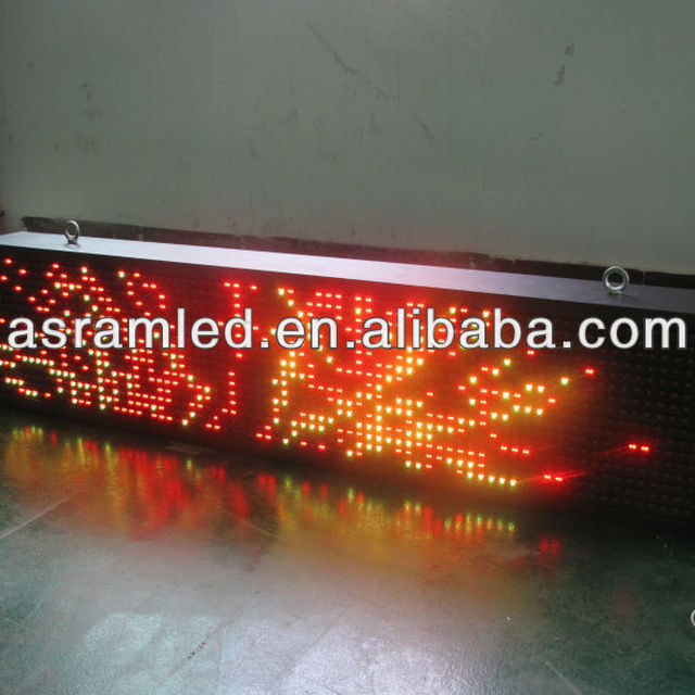 wholesale alibaba express cheap outdoor flexible outdoor programmable scrolling exit sign led board