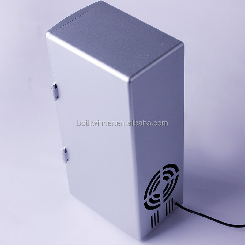 2017 trending products mini usb fridge portable 2 cans bar refrigerator