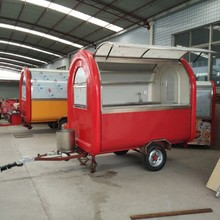 CE OEM fast food vending cutome design trailer/carts/kitchen/van/ kiosk truck mobile work shop station for sale