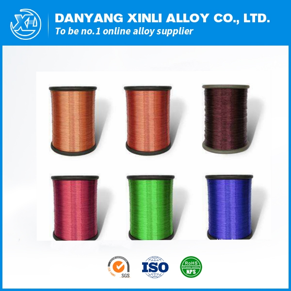 Enameled manganin cumn12ni heating wire