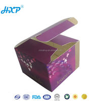 Cheap Food Grade Customized Paper Cupcake Boxes