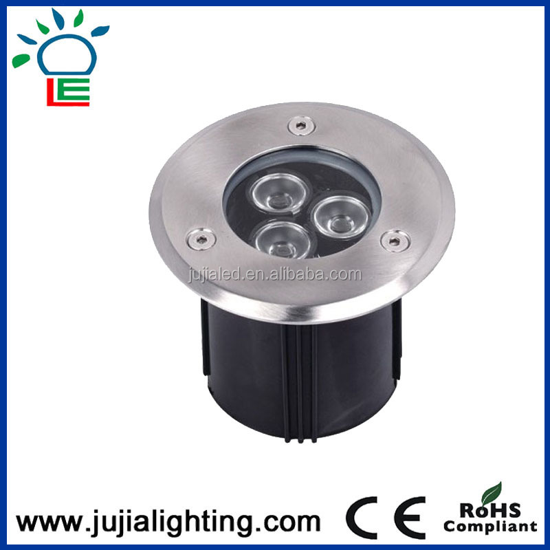 12W Led inground Lights in Concrete CE RoHS EMC LVD Single Color RGB IP67 Led Underground Light