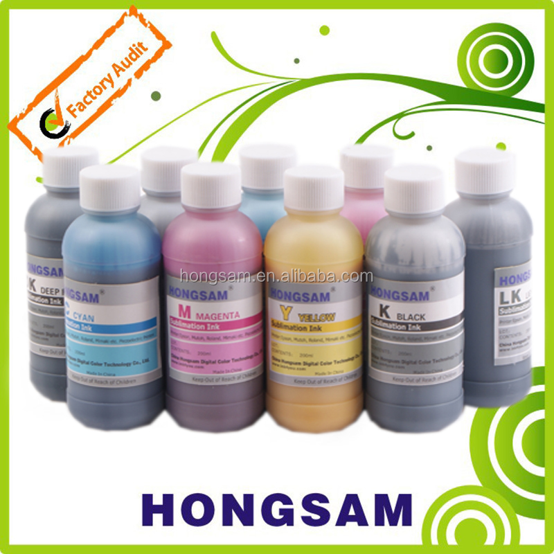 Good quality sublimation ink heat sensitive ink for Epson Mimaki printer