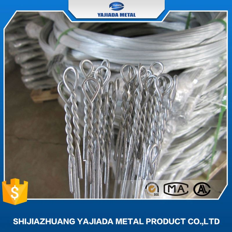 decorative building copper alloy double end loop tie wire electric galvanized