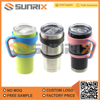 30Oz 20Oz Vacuum Insulated Stainless Steel Tumbler With Sliding Lid