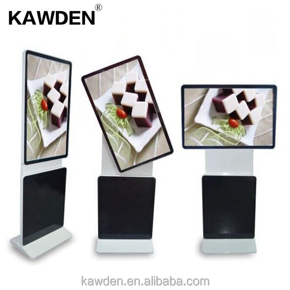 98 inch KAWDEN advertising machine Quick Response smart information kiosk lcd advertising display Self Service High Security