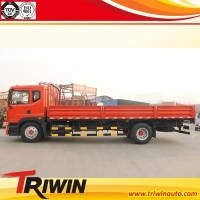 EURO4 emission standard 4x2 drive wheel diesel engine 160hp 10ton cargo truck / 10 ton flat truck for sale!