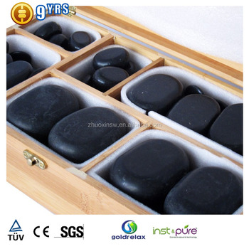 Hot massage stone / 60pcs stone set / hot stone