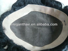 100% human hair swiss lace toupe