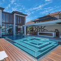 PG Customized Clear Acrylic Swimming Custom Pool Panels