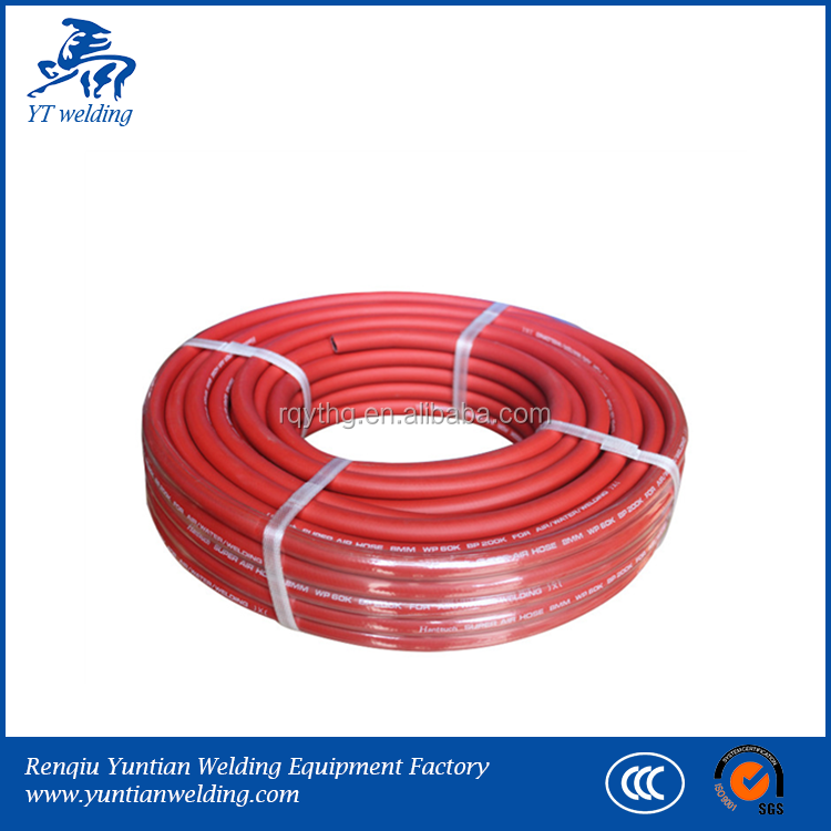 Factory welding twin hose oxygen hose rubber