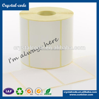Various materials high quality self adhesive blank label