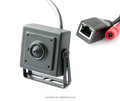 Poe Super Hidden ONVIF Network Security Surveillance Bullet 1.3 Megapixel Mini Bullet IP Camera