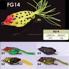 Best bass fishing lures popper crankbait style hollow body frogs