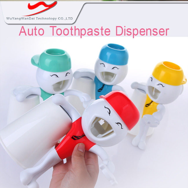 Toothpaste dispenser promotional PP latest baby souvenir <strong>gifts</strong>