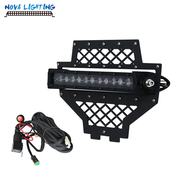 UTV ATV OE Parts 2011-2013 Polaris RZR Mesh Girlle With Single Row Light