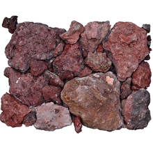 HS-ES-08 Landscaping bali for sale brick red volcanic rock lava stone