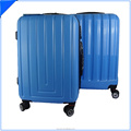 blue abs plastic materials travel style bag set Type spinner 3pcs luggage set