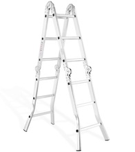 High-end agility step aluminium ladder for LIDL