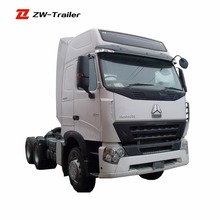 10 wheels truck one sleeper in cab HOWO TRACTOR TRUCK towing vehicle HW19710 transmission for sale