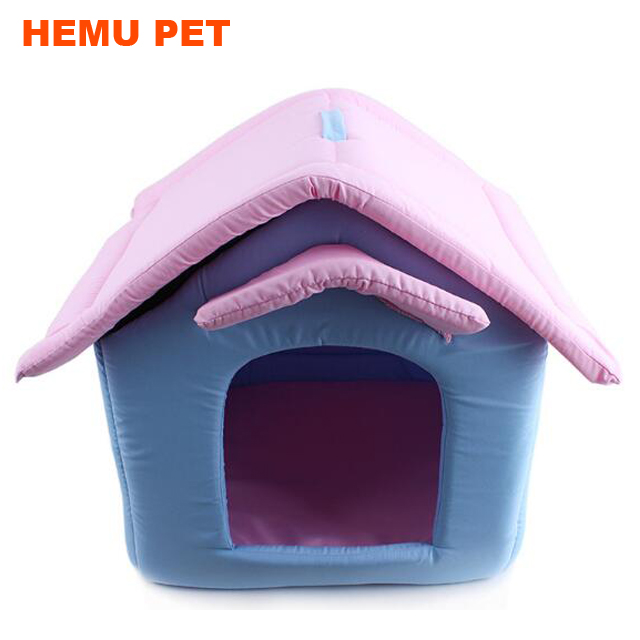2017 hemu love house portable house designed for small <strong>dogs</strong> and cats pet bed