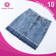 Factory Directly fashionable design mini skirt sexy women short denim jeans