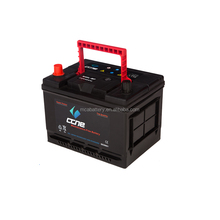 Top sale dry charge 12v car battery specifications