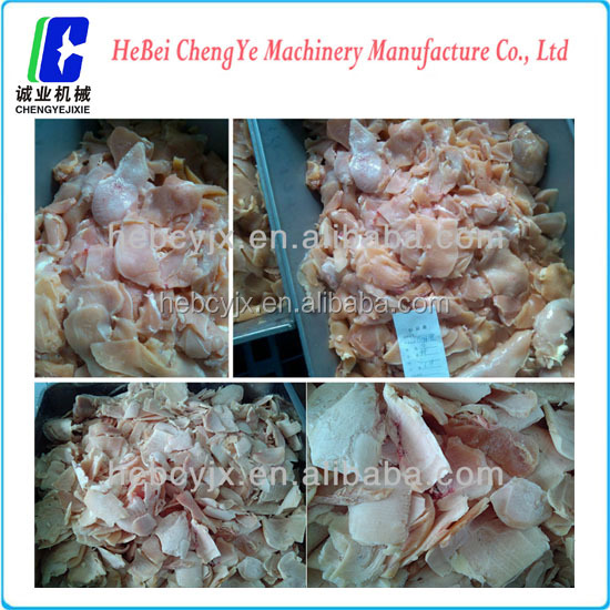 Industrial commercial meat cutting machine 4t/h with low price