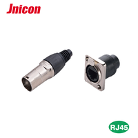 Industry Connector RJ45 Wireless Network Adapter for Led Screen Display Metal Cabinet