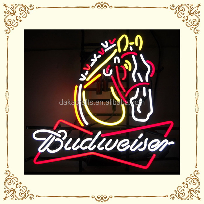 High quality hotsell electric neon bar signs