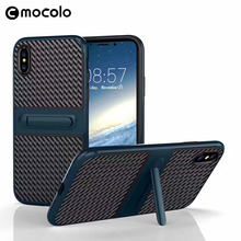 Mocolo Soft TPU + PC Hard Mobile Phone Case for iphone 8 Original Back Cover Case