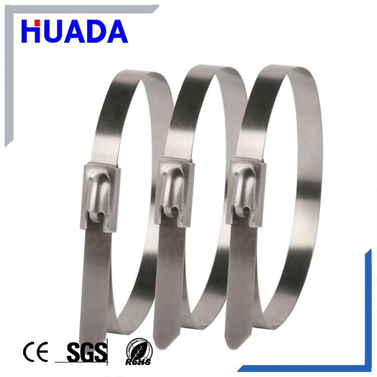 Huada Epoxy Kunststoff Beschichtet Edelstahl Metall Kabelbinder ...