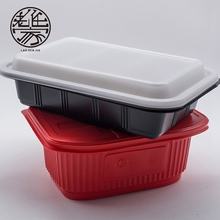 Folding Microwavable Plastic Airtight Disposable Food Container