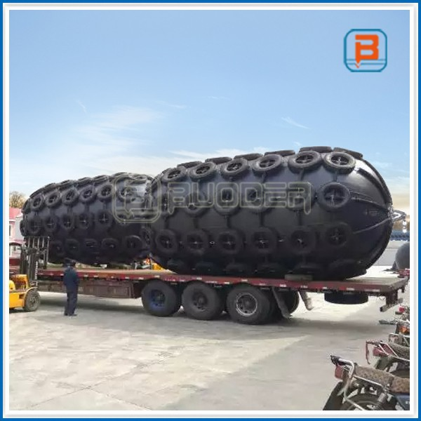 Marine Boat Mooring Floating Pneumatic Rubber Fender For Ship