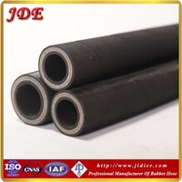 Chinese supplier JDE hydraulic hose DIN 856 4SH four high tensile steel wire spiral reinforcement 2 inch high pressure hose