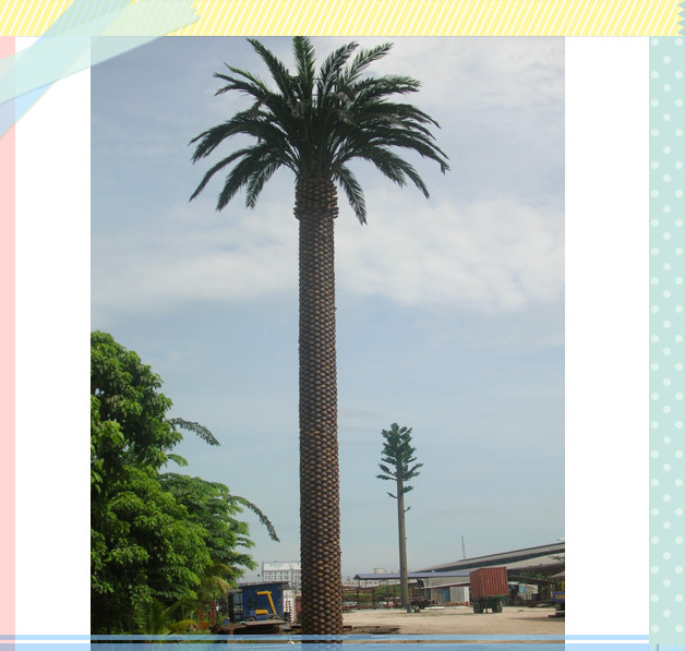 Outdoor Date Palm Telecom Tower Available